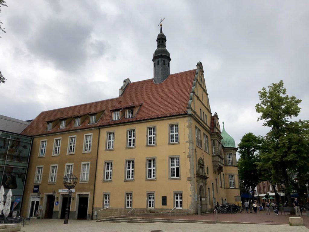 Königstraße 1 Gebäude von außen